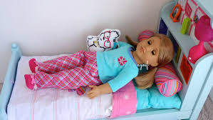 Setting Up American Girl Bouquet Bed