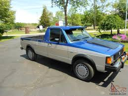 1981 Volkswagen Caddy Rabbit Truck Diesel Turbo Low Miles Excellent ...