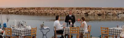 100 Molos Restaurants Bars Coral Beach Hotel Resort