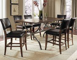 Round Counter Height Dining Room Sets Transitional Wood Chairs Elegant Best Pine Table
