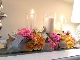 Centerpiece Easy Spring Table Decorations Idea Diy Tutorial And Inexpensive Youtube Good Looking Flower Ideas Best