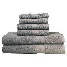 Purple Decorative Towel Sets by Mainstays Essential True Colors Bath Towel Collection 6 Piece Set