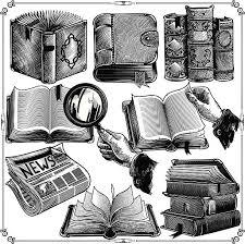 Books Icons Vector Art Illustration