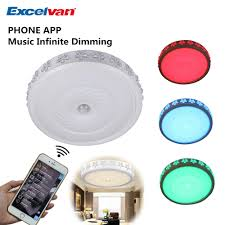 Ceiling Function Roundup Excel by Aliexpress Com Buy Excelvan 38w Round Ceiling Lights With Wifi