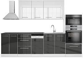 vicco küche s line küchenzeile küchenblock einbauküche 295cm