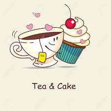 und kuchen für immer lieben und kuchen umarmung comic vektor illustration
