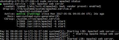 Install Lamp Ubuntu 1404 Aws by How To Install Lamp On Ubuntu 16 04 Ec2 Instance Protechgurus