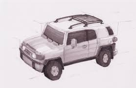 28+ Collection Of Fj Cruiser Drawing | High Quality, Free Cliparts ...