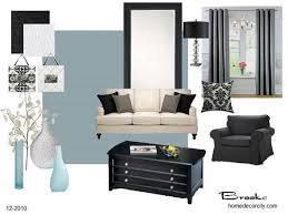 Black White Blue Living Room Ideas Impressive Pinterest The World39s Catalog Of