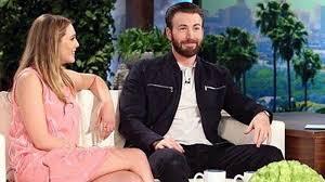 Elizabeth Olsen And Chris Evans On The Ellen Show