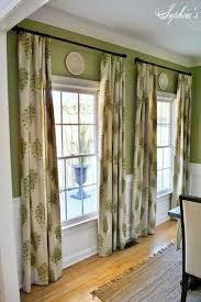 endearing dining room window curtains and top 25 best dining room