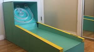 DIY Cardboard Skee Ball Machine