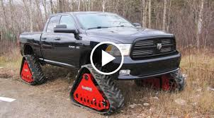 100 Truck Tracks Snow On S BADASS Rubber Conversion Systems