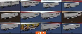 SiSL's Trailer Pack USA V1.1 ATS - American Truck Simulator Mod ...
