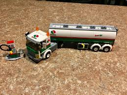 100 Lego City Tanker Truck Set 3180 Octane Tank 100 Complete With Instructions