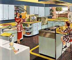 A 1953 Kitchenmaid Kitchen