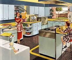 A 1953 Kitchenmaid Kitchen