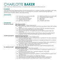 Retail Customer Service Resume Tommybanks Info Samples Printable Sample Sales