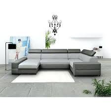 canapé cuir tissu canape cuir tissu canapa sofa divan canapac dangle 6 places en u