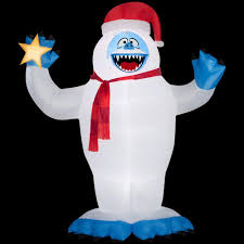 Halloween Blow Up Decorations by Christmas Inflatables Outdoor Christmas Decorations The Home Depot