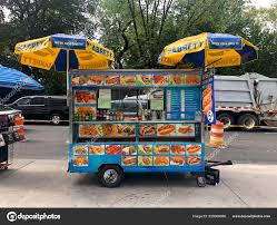 100 New York City Food Trucks Vendors Popular Nyc Truck Stock