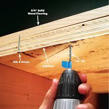 Fix Squeaky Old Hardwood Floors