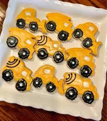 100 Dump Truck Cookies Large Construction Sugar Digger Truck Etsy