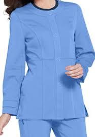 Ceil Blue Print Scrub Jackets by Womens Scrub Jackets Scrubs U0026 Beyond