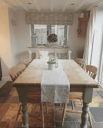 Shabby Chic Dining Room Wall Decor by White Shabby Chic Furniture Round Black Glass Dining Table Top Two