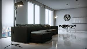 Minimalist Apartment By UE4Arch In Architectural