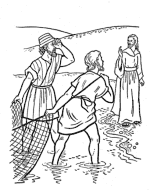 Jesus Apostles Coloring Page