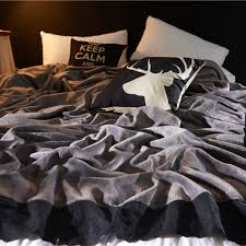 Bape Bed Sheets by Online Buy Wholesale Grey Blanket From China Grey Blanket