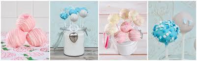 süße cakepops für taufe und baby