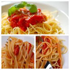 tomatensugo oder food in perfektion