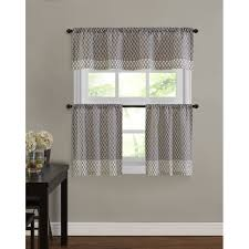 Kmart Window Curtain Rods by 3 Piece America Printing Painting Kitchen Window Curtain Set 2