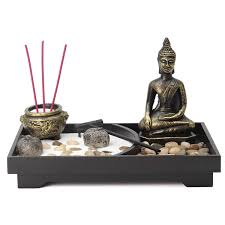 Amazoncom Jeteven Zen Garden Tealight Candle Holders Incense