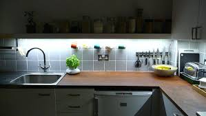 lights kitchen cabinets faced