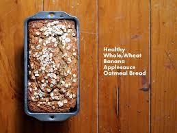Vegan Pumpkin Muffins Applesauce by Whole Wheat Oatmeal Applesauce Banana Bread Ambitious Kitchen