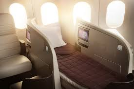 siege business air 8 hours of dreamliner business class beds for 15 000 points or