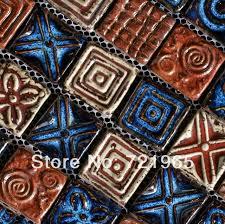 craft porcelain mosaic kitchen backsplash tile pcmt071 blue