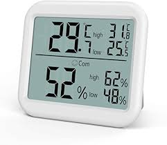 oria digitales thermo hygrometer großer lcd thermometer