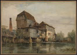 100 Paper Mill House Wiers Near Oxford Edward William Cooke 183542 Tate