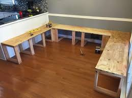 Modest Exquisite Diy Dining Room Table Best 25 Corner Bench Table