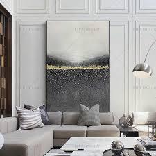 100 handgemachte schwarz grau weiß abstrakte gold ölgemälde für wohnzimmer moderne malerei wand dekor bild kunst geschenk