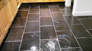 black slate tile restoration cleaning and polishing tips