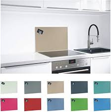 paulus spritzschutz küche herd küchenrückwand magnetisch 60x40cm beige ral 1019 graubeige