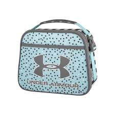 Girls Under Armour Lunch Box Turquoise Blue Turq Aqua