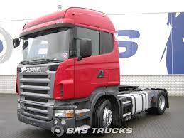 Scania R420 Manual+Retarder Euro 4 Tractorhead - BAS Trucks