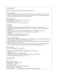 Sample Resume Profiles Profile Statement Customer Service Samples Example Objective
