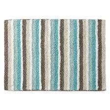 Home Cotton Reversible Stripe Bath Rug Collection Penney – Direct